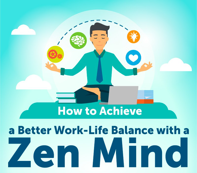 How to reduce work-related stress and maintain a healthy work-life balance (Infographic)